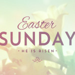 Easter Sunday Services – April 16th