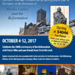 In The Footsteps of Martin Luther & the Reformation 2017