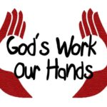"""God's work. Our hands"" Sunday, September 10"