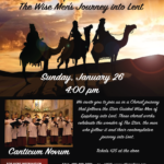LMPS – The Wise Men's Journey into Lent 01/26/2020